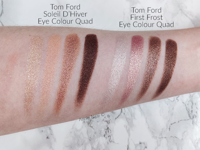 Tom Ford First Frost Eye Colour Quad Swatches and First Impressions | Annie's Noms