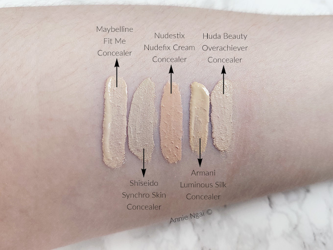 My Top 5 Favourite Concealers | Annie's Noms