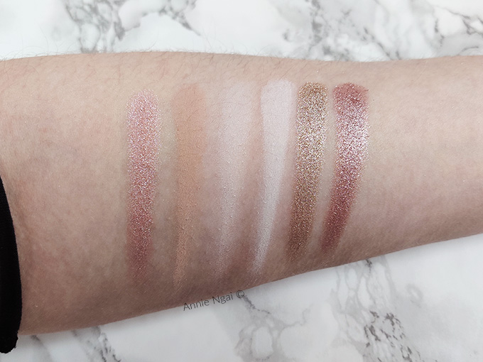 Colourpop Stone Cold Fox Palette Swatches and First Impressions | Annie's Noms
