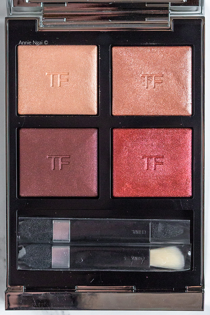 Tom Ford Mercurial Eye Quad Extreme Swatches and First Impressions | Annie's Noms