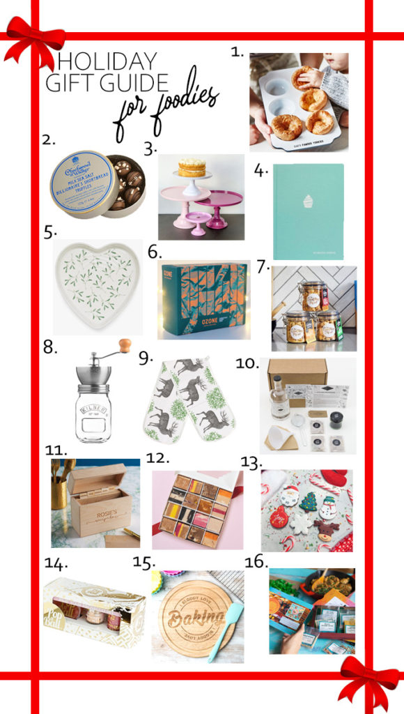 Holiday Gift Guide for Foodies! | Annie's Noms