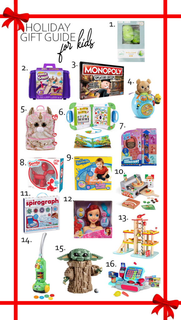It's time for my Holiday Gift Guide For Kids! From crafty to educational to Disney, I have every type of gift your kids could ever want!