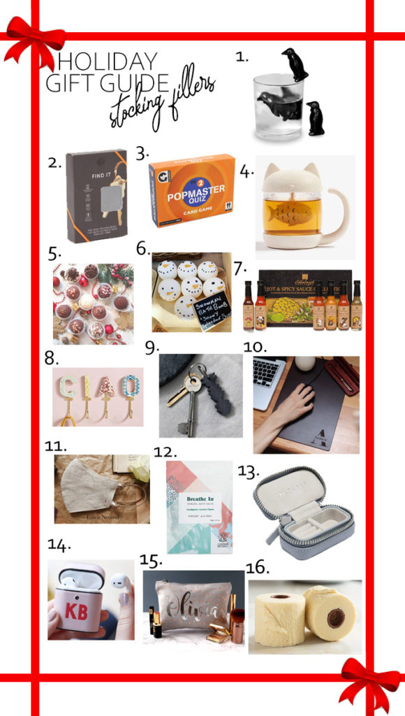 Holiday Gift Guide - Stocking Fillers! | Annie's Noms