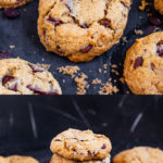These soft and chewy Vegan Chocolate Chip Cookies are ready in under 30 mins and peppered with oozing vegan chocolate chips. Easy to make and utterly divine, these are bound to become family favourites!