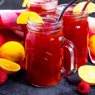 This refreshing Raspberry Lemon Iced Tea is so easy to make and tastes delicious. Homemade Lemon Iced Tea is already amazing, add in raspberries and you've got a dreamy combination!